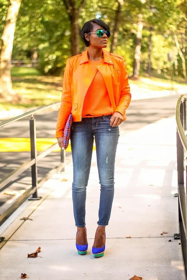 the daileigh jacket shoes jeans sunglasses t-shirt belt bag