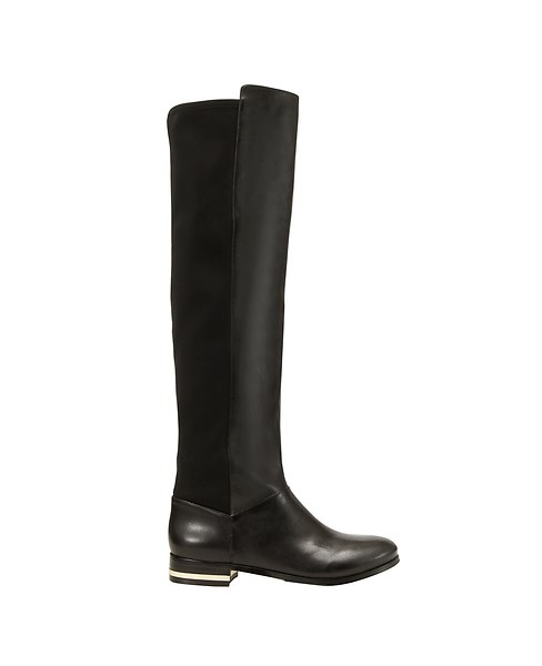 Cody Over The Knee Leather Riding Boots   Ann Taylor