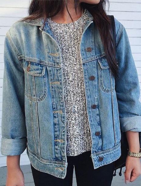 coat jacket jean jackets denim jacket denim oversized jacket oversized top denim oversized blue want