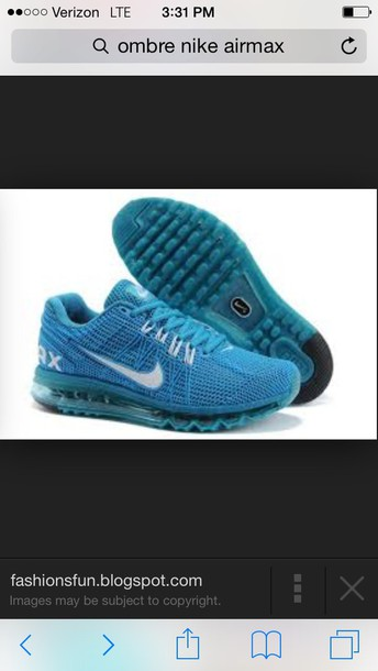 shoes ombre nike air max 2014