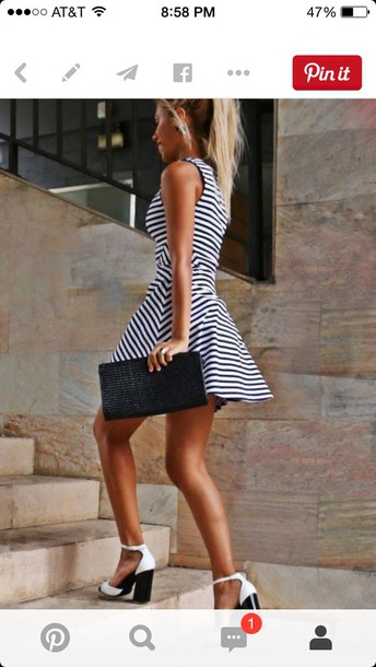 dress striped dress