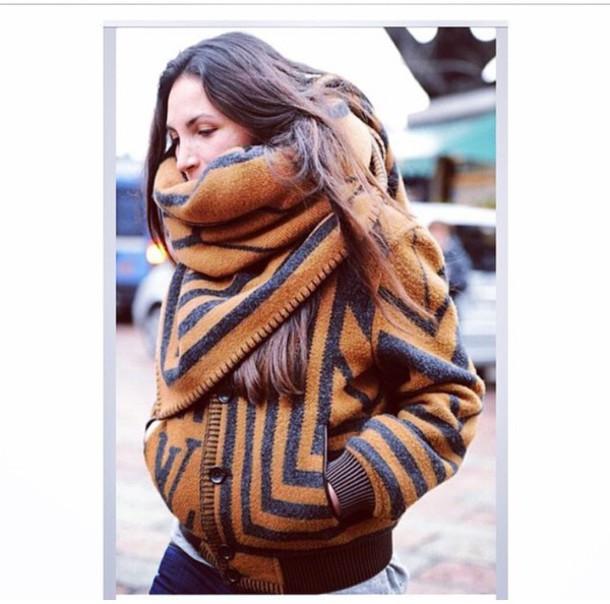 coat brown wool