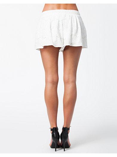 Lace Shorts Skirt - Notion 1.3 - Hvit - Skjørt - Klær - Kvinne - Nelly.com