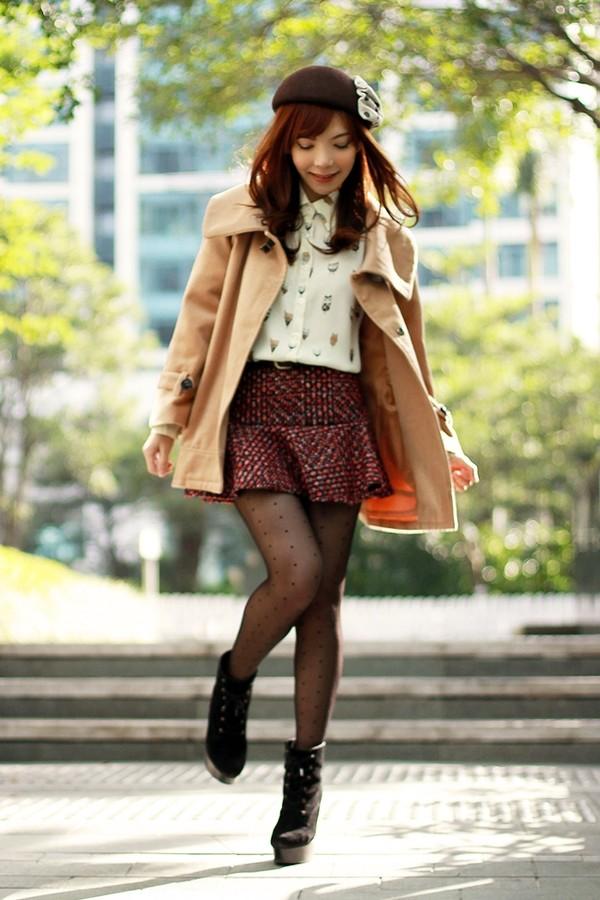 mochaccinoland coat shirt skirt