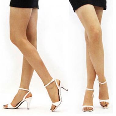 Ankle Strap High Heel Sandals Sandals 98 Satin Black - Satin Sandals, Ankle Straps, Strappy, Handmade Sandals, Modeisland.com, Women's Shoes, Made in Korea
