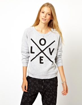 Zoe Karssen | Zoe Karssen Love Sweater at ASOS