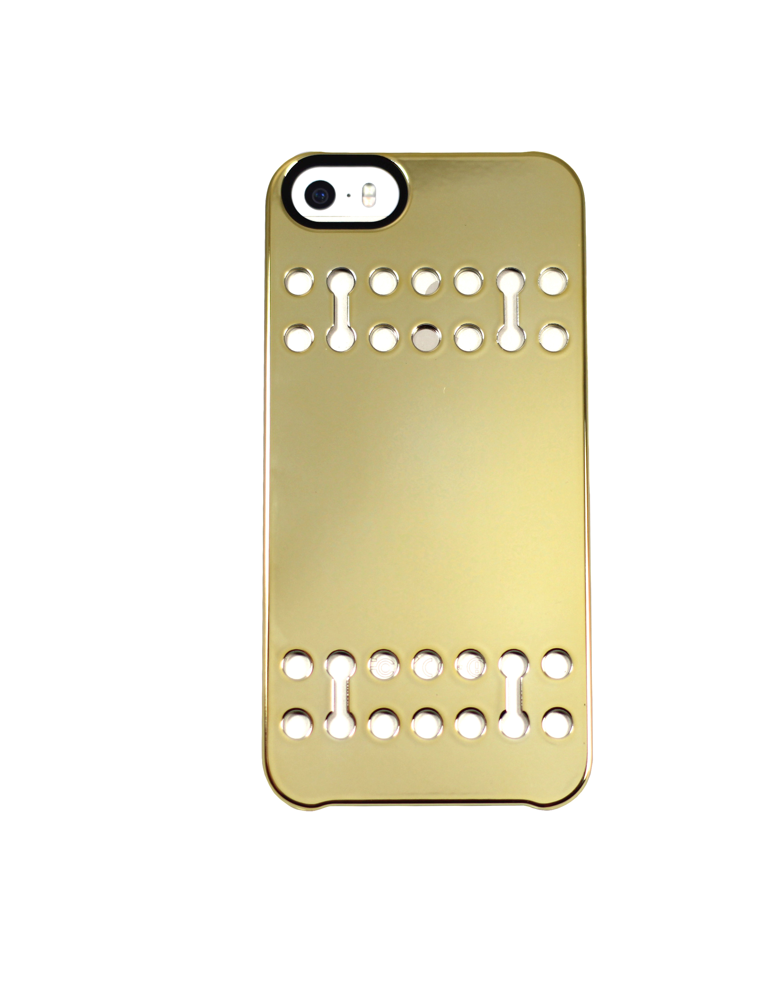 Snap Case for iPhone 5/5S - Mirrored Gold | Boostcase
