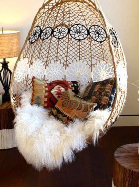 Home Accessory Hanging Chair Dreamcatcher Swing Ceiling