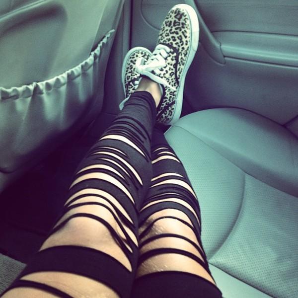 jeans leggings rip leggings high waisted