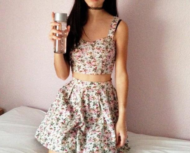 top skirt shirt