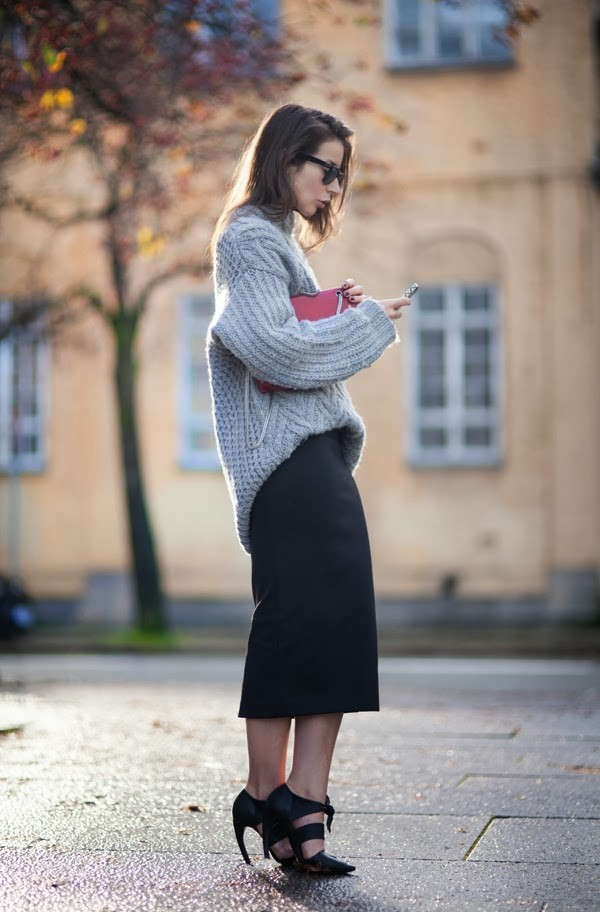 portablepackage sweater skirt shoes bag