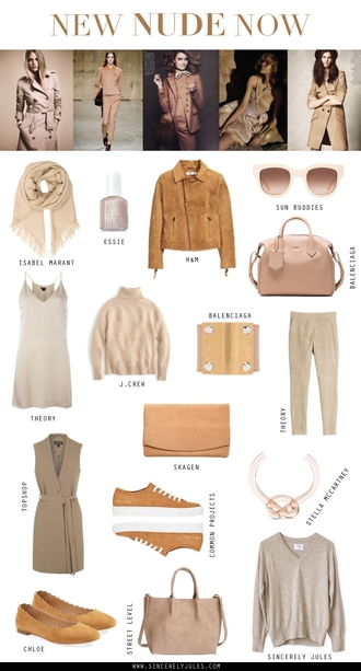 sincerely jules blogger nude all nude everything nude bag suede jacket beige sweater nude sneakers