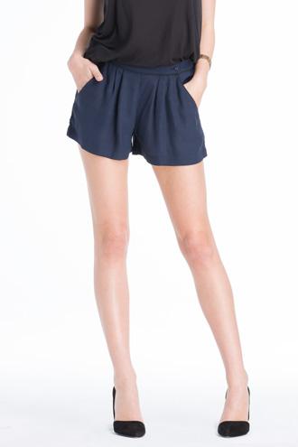 Silk Trouser Shorts | Bottoms | BELLA LUXX