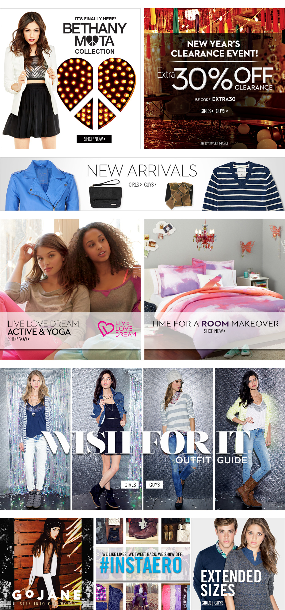 Guys & Girls Clothes, Hoodies, Graphic Tees & Jeans   Aeropostale
