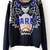 Loose Round Neck Long Sleeve Punk Sweater : KissChic.com