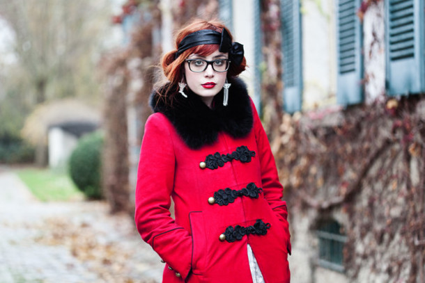 pandora miss pandora red coat pirate coat