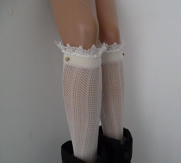 shoes leg warmers
