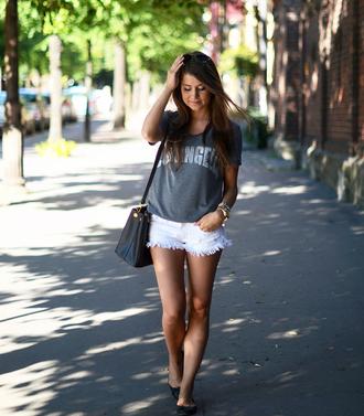 shorts mariannan t-shirt bag