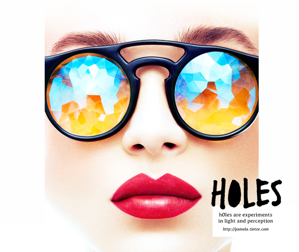 KALEIDOSCOPE PRISM GLASSES __ by H0LES