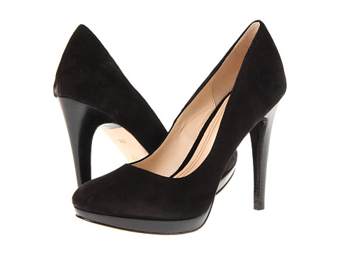Cole Haan Chelsea High Pump Black Suede - Zappos.com Free Shipping BOTH Ways
