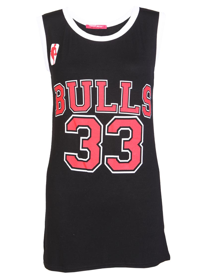 Bulls 33 Casual Top - Womens Clothing Sale, Womens Fashion, Cheap Clothes Online   Miss Rebel