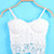 Bella Crochet Bustier   Outfit Made