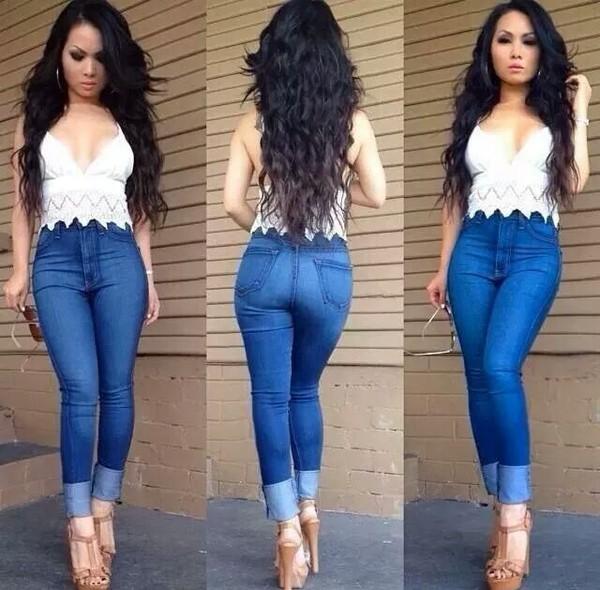 jeans blouse pants shoes t-shirt