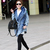Fashion Womens Lady Denim Trench Hoodie Coat Hooded Jean Jacket Outerwear Cool | eBay