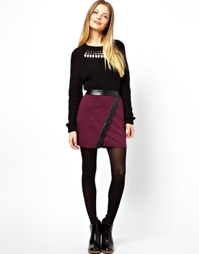 mini skirt wrap | ASOS