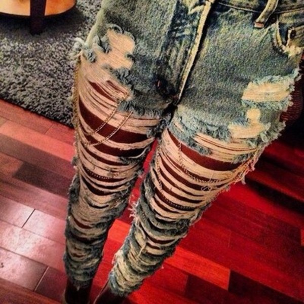 jeans high waisted jeans ripped jeans jewels