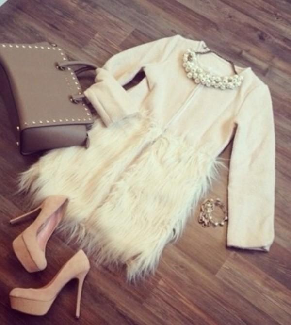coat faux fur jacket faux fur coat
