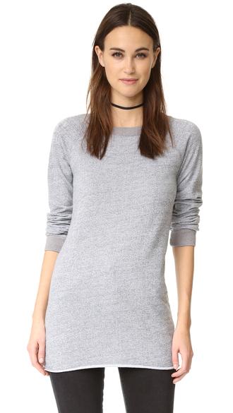 sweater fashion clothes monrow raglan sweatshirt crew neckline