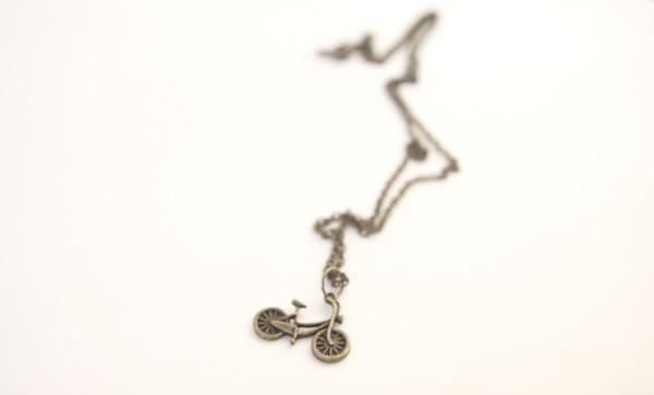 jewels mini pendant bike necklace jewelry