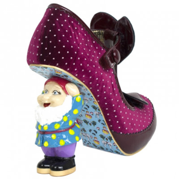 shoes heels gnome cute vintage dorky