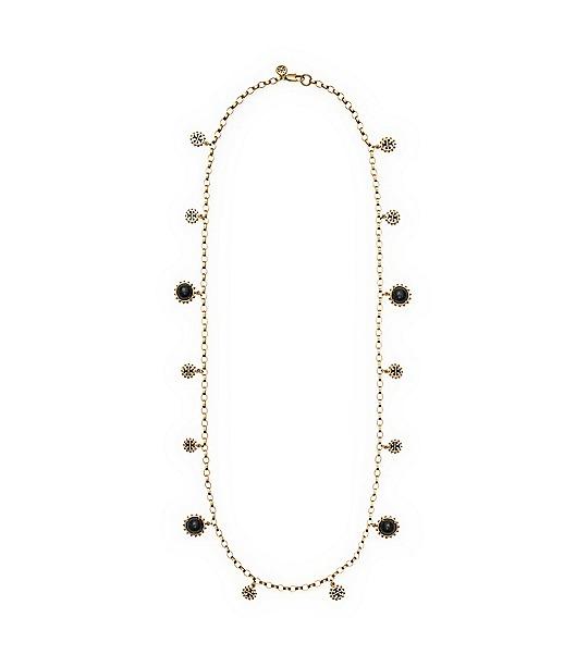 Winslow Logo Rosary  | Womens Necklaces | ToryBurch.com