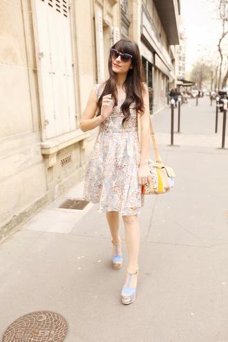 the cherry blossom girl bag dress sunglasses shoes