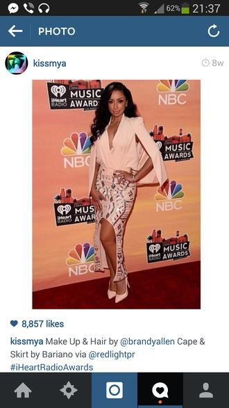 skirt mya gold sequins light pink beige skirts celebrity style unique classy dress blouse