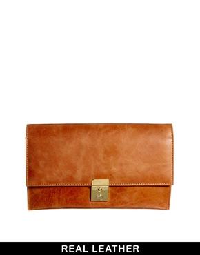 ASOS | ASOS Leather Purse Travel Wallet at ASOS