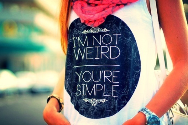 blouse cool shirts funny shirt swag hipster tumblr girl weheartit cute shirt