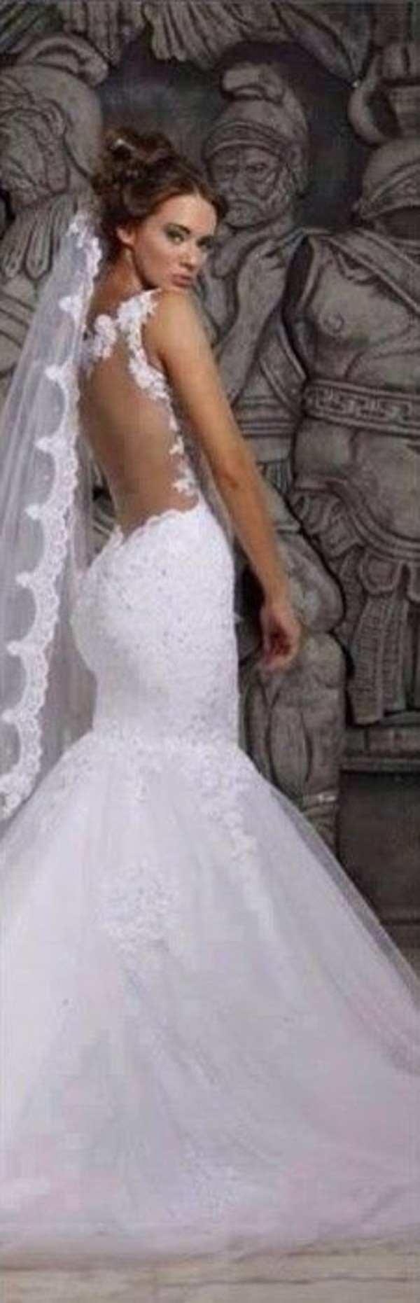 dress lace wedding dress mermaid