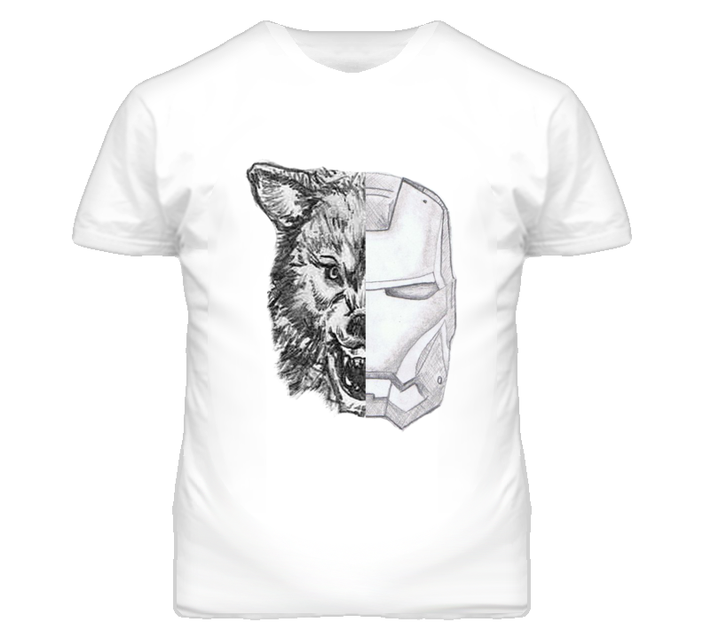 Game Of Thrones Wolf Stark Ironman Graphic Popular T Shirt