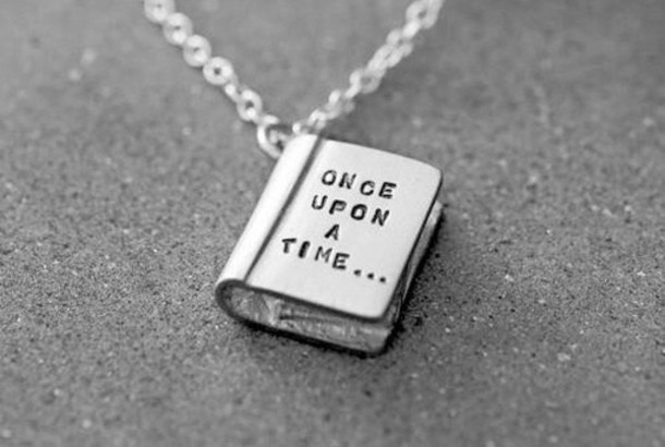 necklace book chain silver necklace girly wishlist silver valentines day gift idea jewels once upon a time