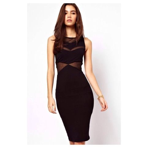 Sexy Mesh Inset Midi Dress   Forever Mint   Online Store Powered by Storenvy