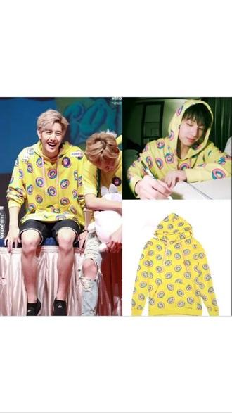 sweater mark jungkook got7 bts