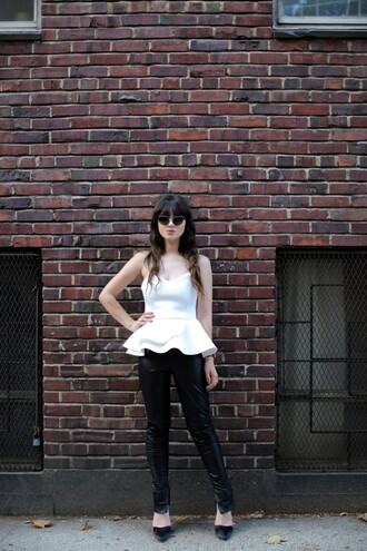 blog de betty blogger sunglasses top shoes