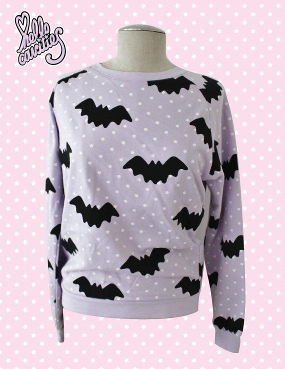 Hello Cavities Twinkle Twinkle Bat Sweatshirt in by hellocavities