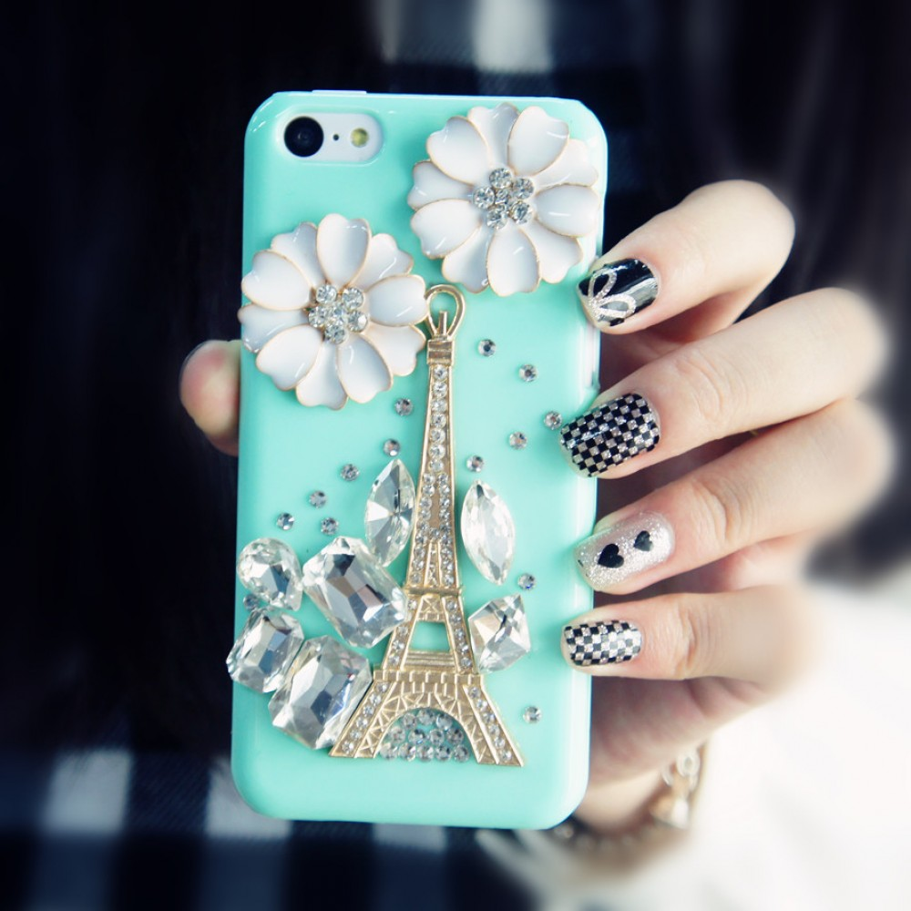 3d iphone 5c cases 3d eiffel tower iphone 5c mint green 13345