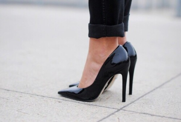 shoes black pumps heels style sophisticated black heels