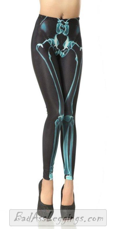 BAL 77 x Ray Skeleton Bones Ladie's Stretchy Tights Club Party Sexy Pants Medium | eBay