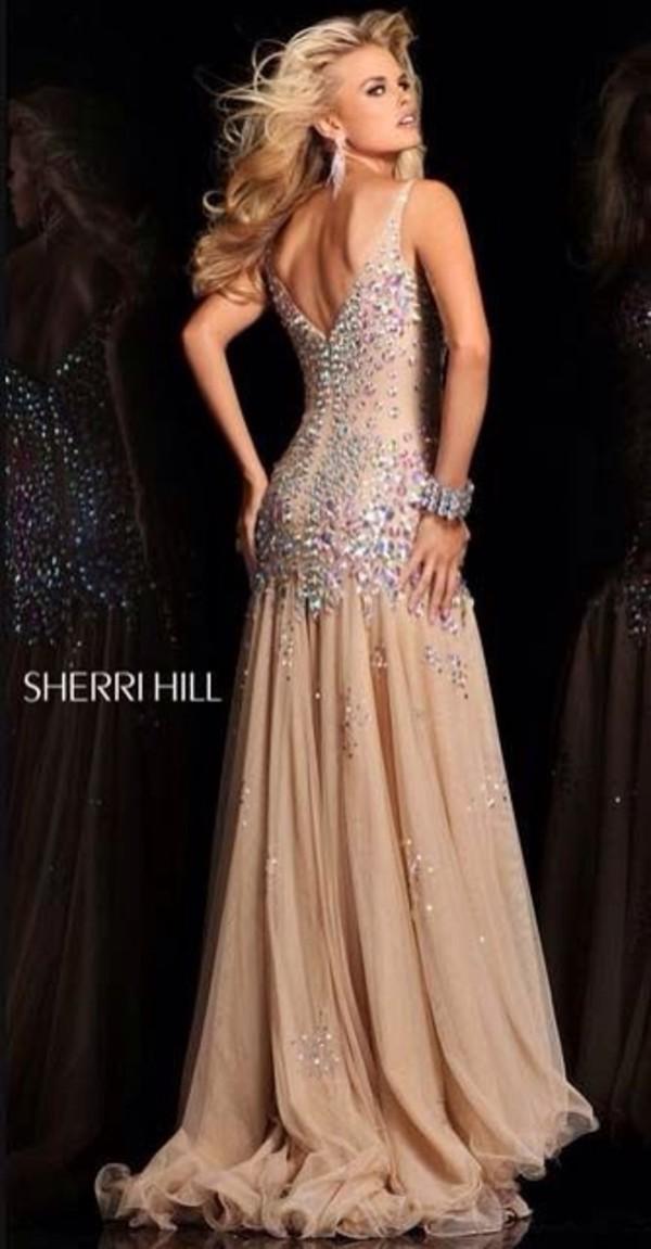 dress prom dress long prom dress sherri hill prom